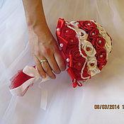 """Цветы и флористика ручной работы. Ярмарка Мастеров - ручная работа Букет невесты """"Жемчужина"""". Handmade."""