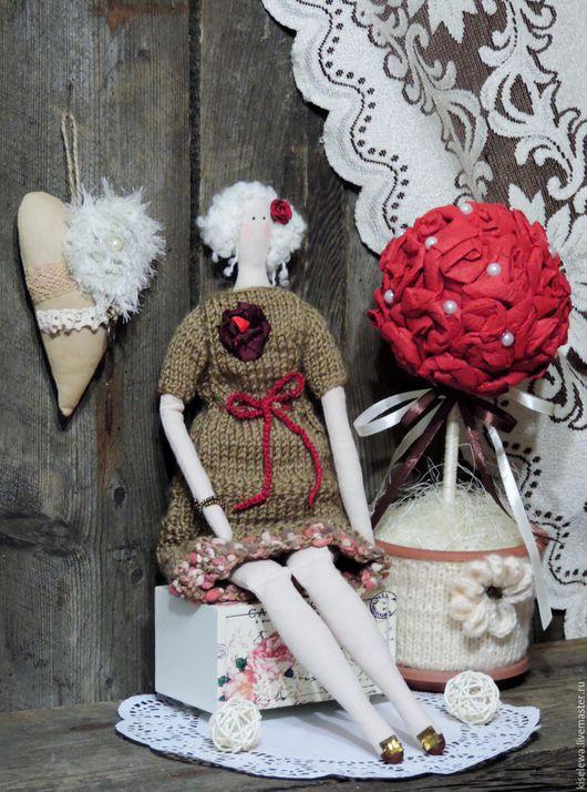 Куклы Тильды ручной работы. Ярмарка Мастеров - ручная работа. Купить Агнетта текстильная кукла тильда. Handmade. Кукла Тильда