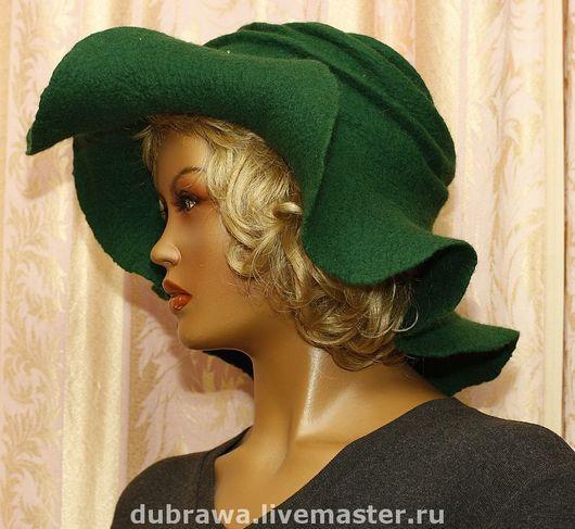 """Шляпы ручной работы. Ярмарка Мастеров - ручная работа. Купить Шляпа  войлочная """"Единственная моя!"""". Handmade. Шерсть, элегантная"""