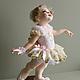 """Коллекционные куклы ручной работы. Ярмарка Мастеров - ручная работа. Купить """"Прима"""". Handmade. Бежевый, подарок женщине, ленты атласные"""