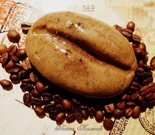 """Мыло ручной работы. Ярмарка Мастеров - ручная работа. Купить Мыло """"Кофейный десерт"""". Handmade. Коричневый, натуральная косметика, кофе"""
