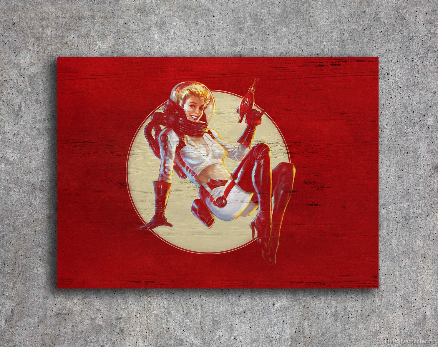 Mini pintura en árbol Nuka Girl (Fallout), Pictures, Tomsk,  Фото №1
