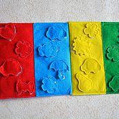"""Куклы и игрушки ручной работы. Ярмарка Мастеров - ручная работа Мини книжка из фетра """"Цвет"""". Handmade."""