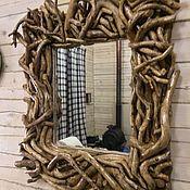 Для дома и интерьера ручной работы. Ярмарка Мастеров - ручная работа Зеркало из веток. Handmade.
