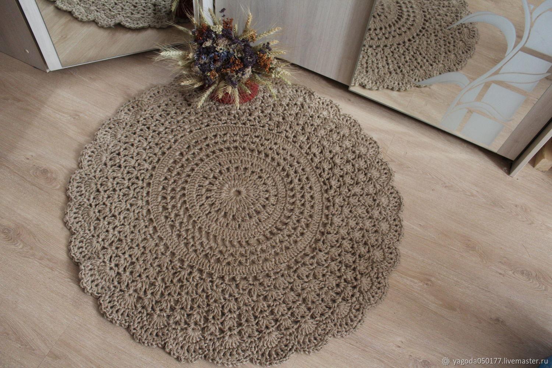Jute carpet 'Recognition' 90 cm, Carpets, Kaluga,  Фото №1