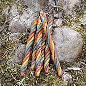 Фен-шуй и эзотерика handmade. Livemaster - original item Candle-rainbow of desires-twist. Handmade.