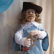 Куклы и игрушки handmade. Livemaster - original item Doll Musketeer. Handmade.