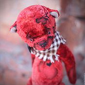 Куклы и игрушки ручной работы. Ярмарка Мастеров - ручная работа Мишка Вишенка. Handmade.