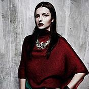 Одежда ручной работы. Ярмарка Мастеров - ручная работа вязаное платье со шлейфом. Handmade.