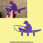 """Для дома и интерьера ручной работы. Ярмарка Мастеров - ручная работа крючок """"рыбак"""". Handmade."""