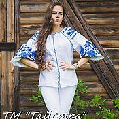 Одежда handmade. Livemaster - original item Embroidered blouse Boho, ethnic style, the Bohemia. Handmade.
