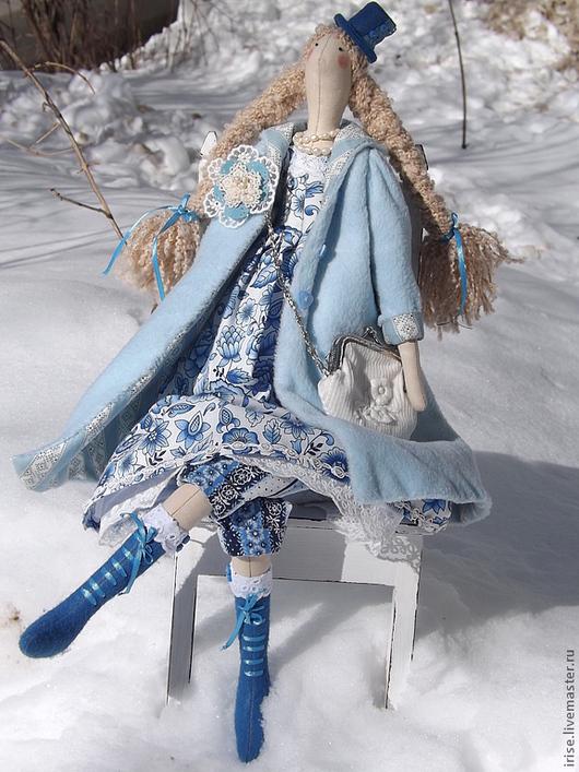 Куклы Тильды ручной работы. Ярмарка Мастеров - ручная работа. Купить Кукла Снежана - Девушка Зима. Handmade. Кукла Тильда