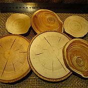 Спилы дерева ручной работы. Ярмарка Мастеров - ручная работа спил дерева разных пород. Handmade.
