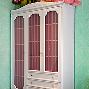 Для дома и интерьера handmade. Livemaster - original item 52. Wardrobe with glass doors. Handmade.