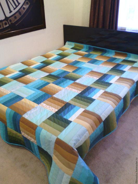 Текстиль, ковры ручной работы. Ярмарка Мастеров - ручная работа. Купить Лоскутное одеяло , покрывало , плед. Handmade. Комбинированный