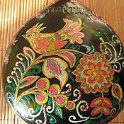 Посуда ручной работы. Ярмарка Мастеров - ручная работа Бутылка Птички. Handmade.