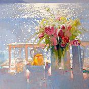"""Картины и панно handmade. Livemaster - original item Painting """"Good Morning"""". Handmade."""