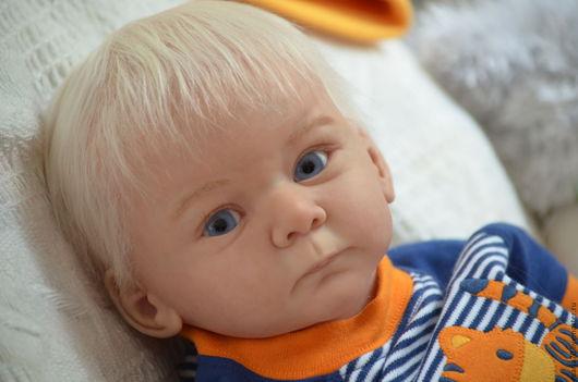Куклы-младенцы и reborn ручной работы. Ярмарка Мастеров - ручная работа. Купить КУКЛА РЕБОРН - МАТИС. Handmade. Разноцветный, синтепон