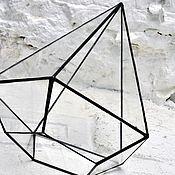 Вазы ручной работы. Ярмарка Мастеров - ручная работа Геометрический флорариум (террариум) алмаз. Handmade.