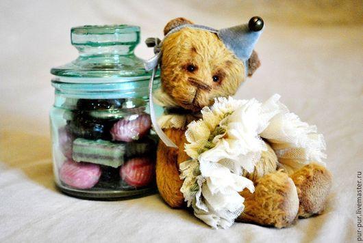 Мишки Тедди ручной работы. Ярмарка Мастеров - ручная работа. Купить Минти (Ментоловая нежность). Handmade. Мятный, мишки