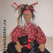 Куклы и игрушки ручной работы. Ярмарка Мастеров - ручная работа Баба- яга. Handmade.