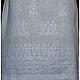 Льняное платье с ручной вышивкой Нарядное-Ненаглядное-2. Модная одежда с ручной вышивкой. Творческое ателье Modne-Narodne.
