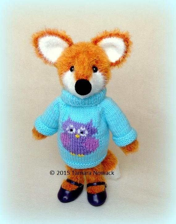 мастер-класс по вязанию лисички
