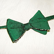 Аксессуары ручной работы. Ярмарка Мастеров - ручная работа Классическая галстук-бабочка. Handmade.