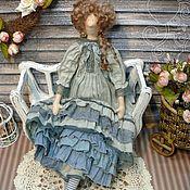 Куклы и игрушки ручной работы. Ярмарка Мастеров - ручная работа Кукла в стиле Бохо: Кэйтлин (текстильная кукла в винтажном стиле). Handmade.