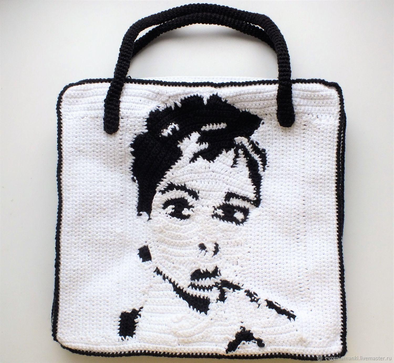 a57d46dec56c Акция выходного дня перед снятием с продажи!!!сумка Одри, сумка крючком,  Женские сумки ручной ...