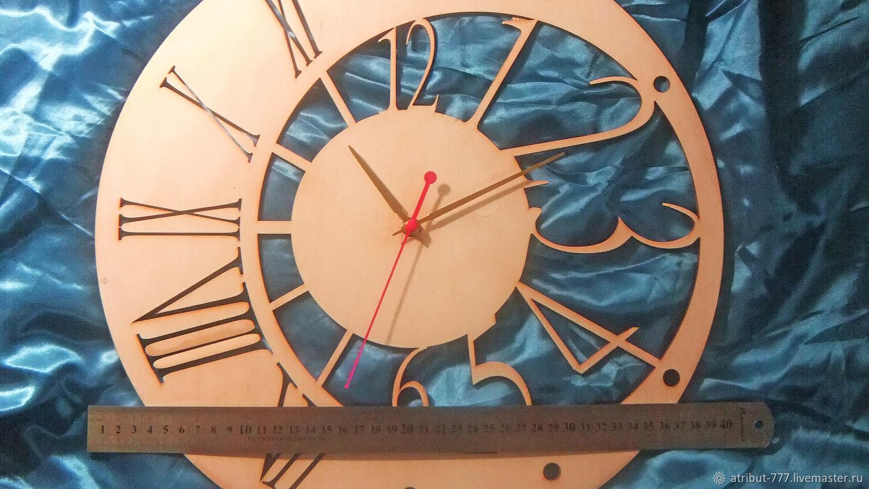 """Часы настенные """"Эклектика"""" из дерева, Часы классические, Набережные Челны,  Фото №1"""