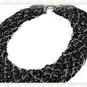 """Украшения ручной работы. Ярмарка Мастеров - ручная работа колье """"Переплетение"""". Handmade."""