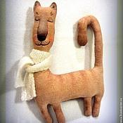 Куклы и игрушки ручной работы. Ярмарка Мастеров - ручная работа Кошечка Сплюша. Handmade.