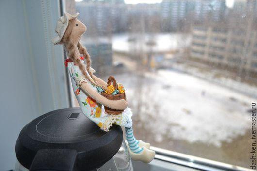 Куклы Тильды ручной работы. Ярмарка Мастеров - ручная работа. Купить Марфуша. Handmade. Желтый, прованс, уютный дом