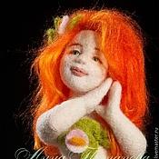 Куклы и игрушки ручной работы. Ярмарка Мастеров - ручная работа Авторская войлочная кукла Кентаврица Ами. Handmade.