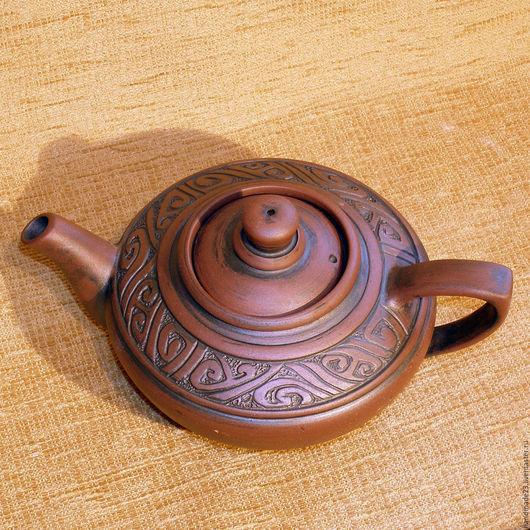 """Чайники, кофейники ручной работы. Ярмарка Мастеров - ручная работа. Купить чайник """"щербет 2"""". Handmade. Коричневый, чай"""