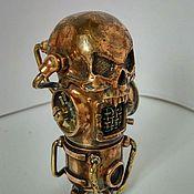 Субкультуры handmade. Livemaster - original item USB flash drive Skull steampunk 32Gb. Handmade.