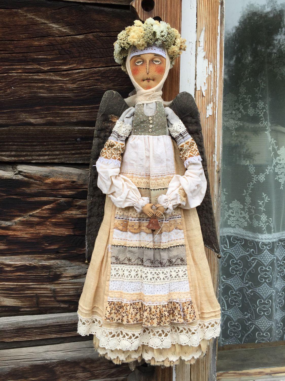 Ангел светлый, Чердачная кукла, Родино,  Фото №1