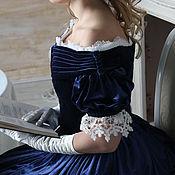 Одежда ручной работы. Ярмарка Мастеров - ручная работа Историческое бальное платье с камеей. Handmade.