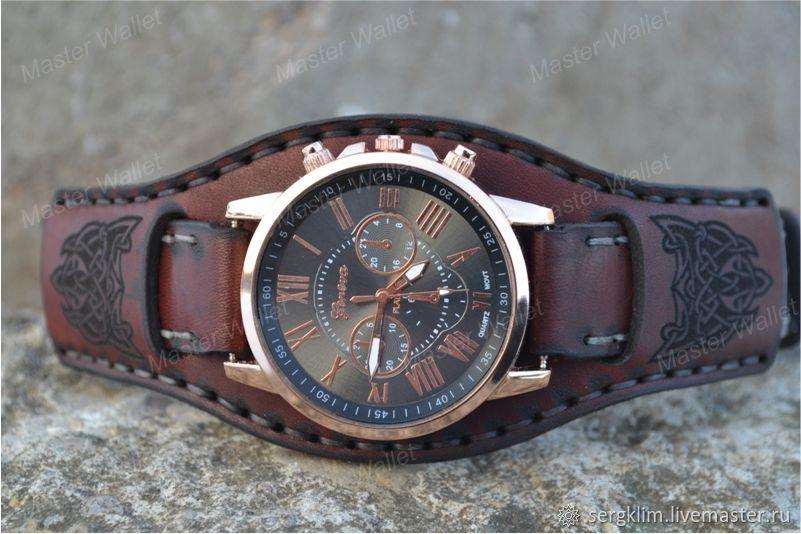 5eadf85c Интернет- · Часы ручной работы. Заказать Кожаный ремешок для часов №11.  Master Wallet.