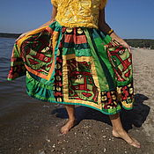 Одежда ручной работы. Ярмарка Мастеров - ручная работа Африканский кофе. Handmade.