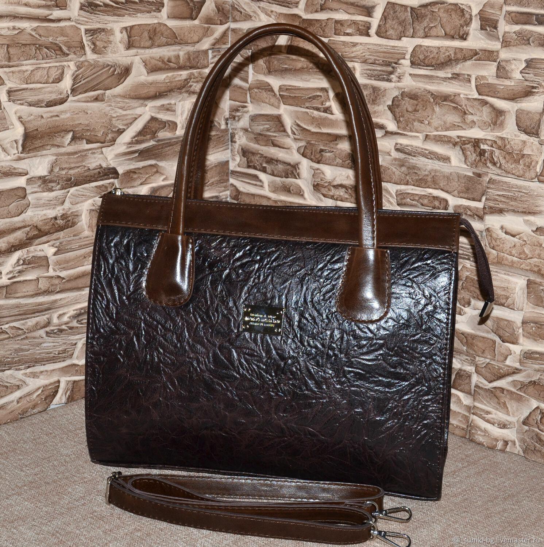 Модель 188  Сумка кожаная женская Сумка из кожи А4, Классическая сумка, Богородск,  Фото №1