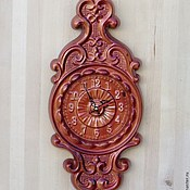 Для дома и интерьера handmade. Livemaster - original item Clock for home wall No. №5.. Handmade.