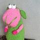 """Игрушки животные, ручной работы. Ярмарка Мастеров - ручная работа. Купить Вязанная овечка """"Счастье """". Handmade. Вязаная игрушка"""