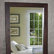 Для дома и интерьера ручной работы. Ярмарка Мастеров - ручная работа Настенное зеркало в раме из дуба. Handmade.
