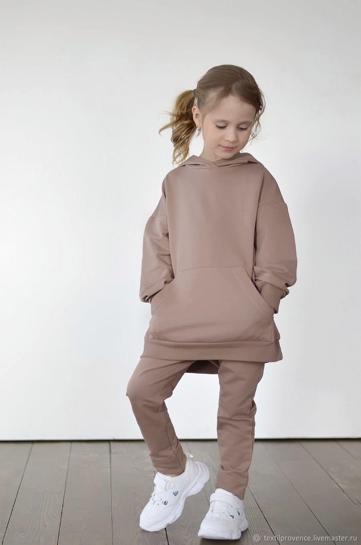 """Костюм детский """"Luna"""" толстовка оверсайз и брюки, Комплекты одежды для малышей, Челябинск,  Фото №1"""