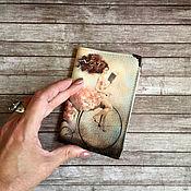 Канцелярские товары handmade. Livemaster - original item Cover for a passport or avtodokumentov, a series of