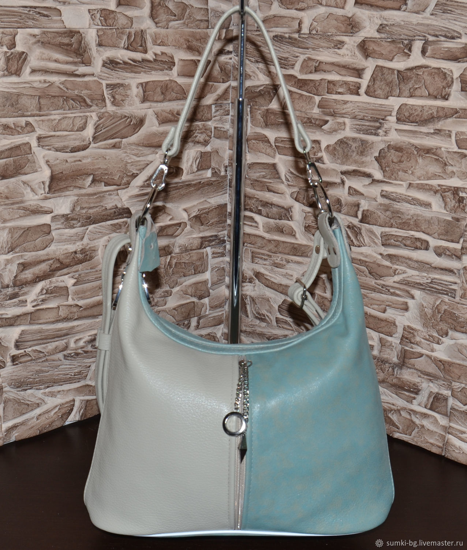 Leather bag Small bag genuine leather Model 325, Classic Bag, Bogorodsk,  Фото №1