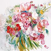Картины и панно ручной работы. Ярмарка Мастеров - ручная работа Winter spring. Handmade.