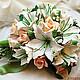 Свадебные цветы ручной работы. Ярмарка Мастеров - ручная работа. Купить букет невесты с лилиями. Handmade. Букет невесты